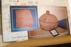Ancient pottery discovered in adulis