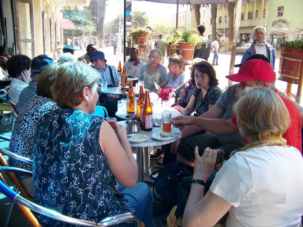 outdoor cafe, Asmara