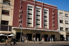 Cinema and Bar Impero, Asmara, among the best Art Deco building in 'Modern Rationalist Style