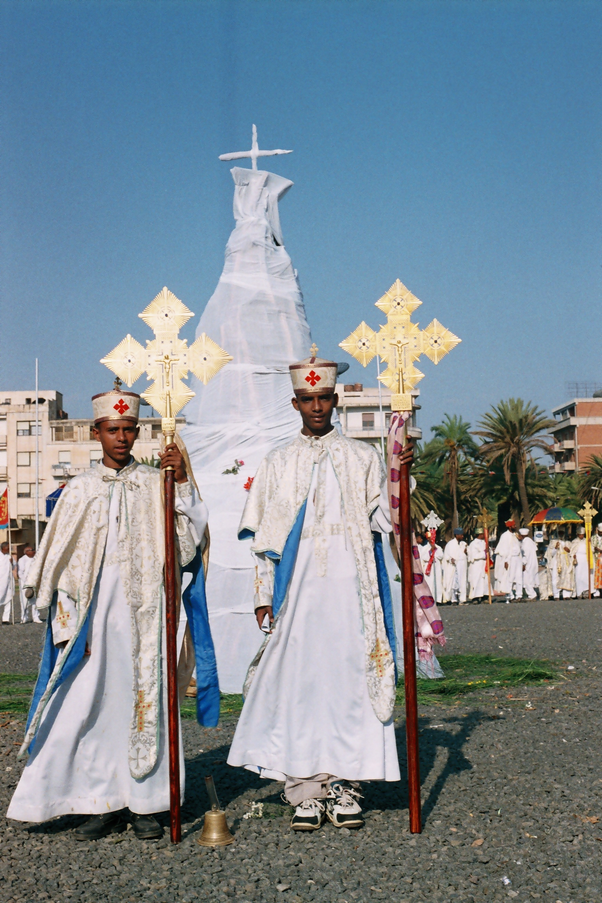 Celebration of the finding of the Holycross