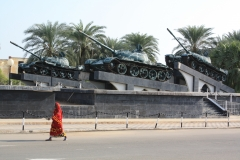 the Tank monument, Massawa