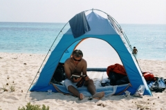 Clean sandy beaches, the Dahlak Islands