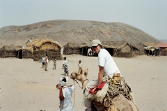 Exciting camel trekking on the Danakil Desert, Afar village of Erafaile