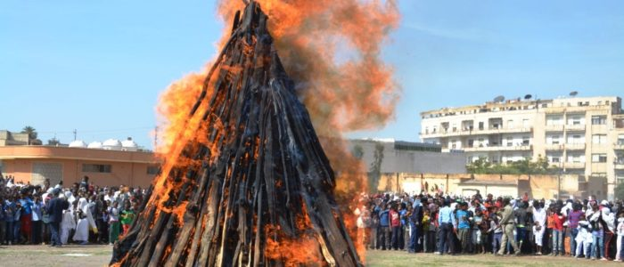 The colorful Meskel (finding of the true cross) Festival, Eritrea