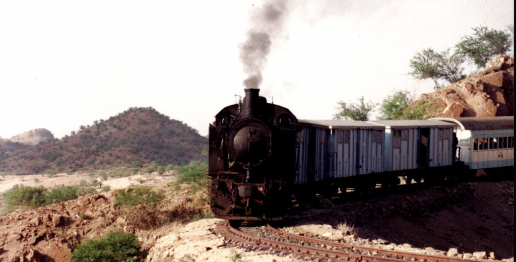 The exhilarating 19 Century Steam Train Excursion, Eritrea