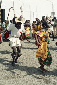 the kunama tribes dancing