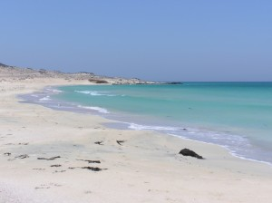 Pristine waters and white sand beaches of the Dahlak Archipelago