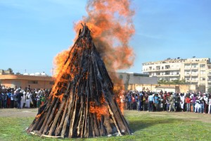 Celebration of the Damera at Meskel Festival