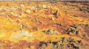 Sulfur Stains, Danakil Depression