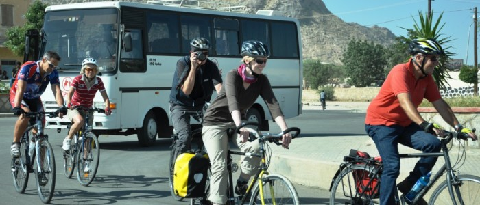 Thrilling cycling across Eritrea's fabulous cities