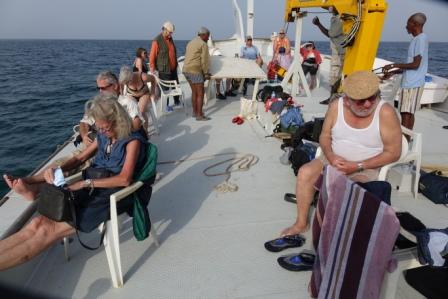 Exciting Boat trip to the Dahlak Islands