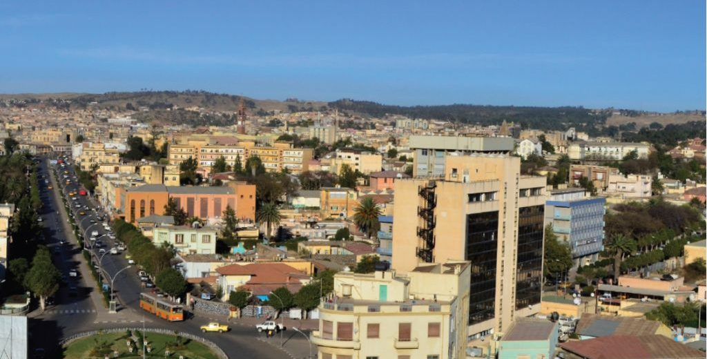 Asmara, Africa 1st and worlds 4th best city, Eritrea