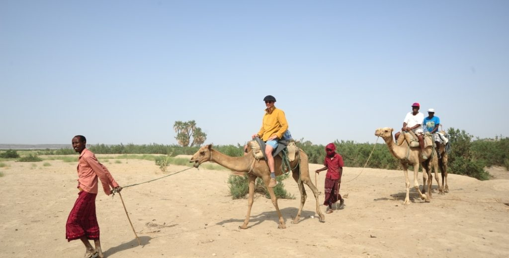 Thrilling Camel Trekking to Volcanic Lake Bada, the Gateway to the Danakil Depression, Eritrea